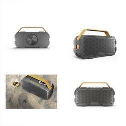 Photive M90 Portable Waterproof Bluetooth Speaker With Built