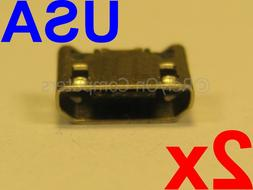 2 Micro USB Charging Port Charger Connector for JBL Flip 4 B