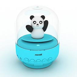 SHABA Mini Cute Bluetooth Speaker with Night Lights, Animal