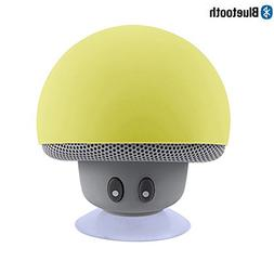 Leacoco Mini Wireless Portable Bluetooth Speakers with Mic a