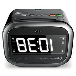 iLuv Morning Call 2 LED Display Alarm Clock with Bluetooth S