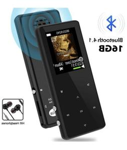 MP3 MP4 player bluetooth 16gb FM Player Recorder Music Touch