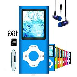 MP3 Player/MP4 Player, Hliwoynes MP3 Music Player with 16GB