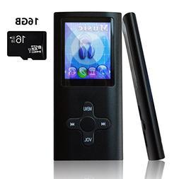 Lonve MP3 Player MP4 Player 16GB Portable Media Music Player
