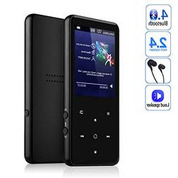 MP3 Player,AMDISI Bluetooth MP3 Player with 2.4'' Large Scre