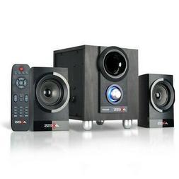 AXESS MSBT3907 2.1 Bluetooth Mini Entertainment System W / R