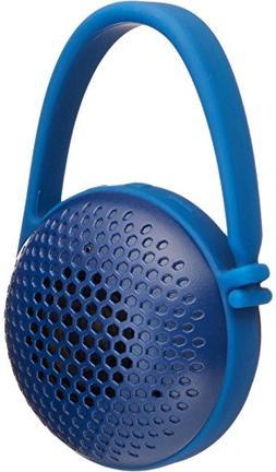 AmazonBasics Nano Bluetooth Speaker Blue Power And Volume Co