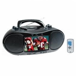 NAXA NDL-254 7-Inch TFT LCD Display Portable DVD Player with