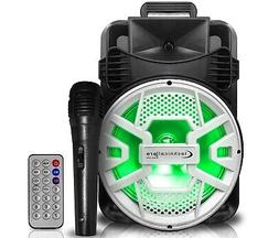 New Technical Pro 2000 watts Rechargeable Bluetooth LED Spea