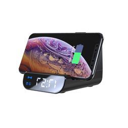 New Alarm Clock 4000 mAh Wireless <font><b>Charger</b></font