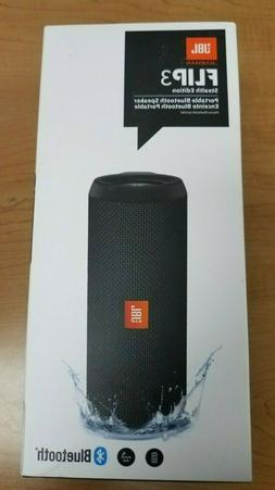 New & Sealed - JBL Flip 3 Stealth Edition Portable Bluetooth