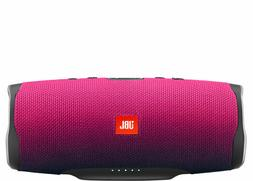 NEW JBL Charge 4 Portable Bluetooth Speaker - Magenta