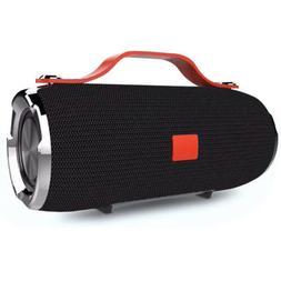 New Charger USB Portable Waterproof Black Bluetooth Speaker