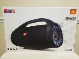 NEW JBL HARMAN BOOMBOX  PORTABLE BLUETOOTH SPEAKER  IPX7 WAT