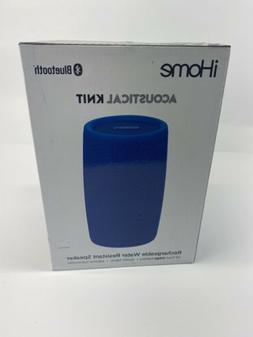 NEW iHome iBT77 Splashproof Fabric Bluetooth Speaker Voice C