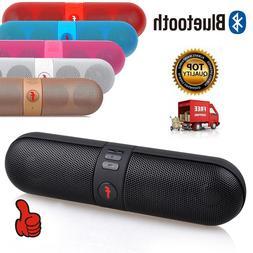 NEW Portable Bluetooth Wireless FM Stereo Speaker For SmartP