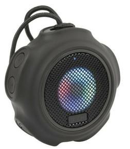 New iHome Portable Waterproof Color-Changing Bluetooth Speak