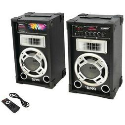 New Pyle Pro PSUFM837BT 800-Watt Disco Jam Powered Active/Pa
