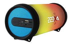NEW Axess Vibrant Mini SPBL1043 HIFI Bluetooth Speaker w/ Di