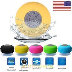 New Waterproof Bluetooth Speaker Mini Wireless Shower Radio