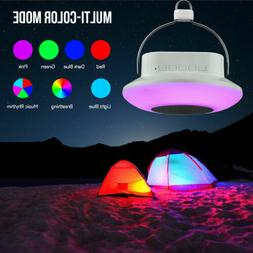 Novelty Multi-color Mode Bluetooth Speaker LED RGB Camping L