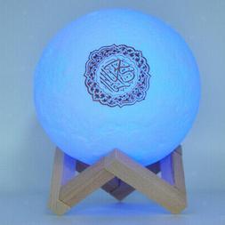 Novelty Quran Recite Bluetooth Speaker Colorful Moon Light L