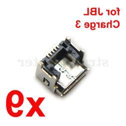 Original JBL Charge 3 Bluetooth Speaker Micro USB Port Femal