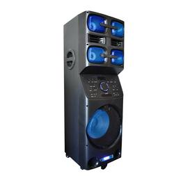 Axess PABT6027 Portable Bluetooth PA Party Speaker with LED