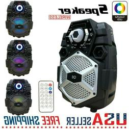 Party Portable Pa Bluetooth Speaker System Big Led Stereo Ta