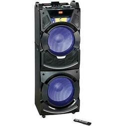 """BriteLite PARTYSYSTEM350 15"""" 2000 Watt Bluetooth Speaker Wit"""