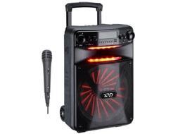 "QFX PBX-1210 12"" Smart APP Controlled Party Speaker +Bluetoo"