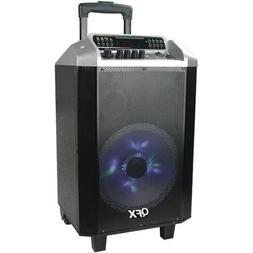QFX PBX-2101 Portable Speaker System w/Bluetooth/USB/TF Card