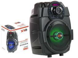 "QFX PBX-5 6.5"" Rechargeable PA Speaker +Bluetooth +USB/AUX/F"