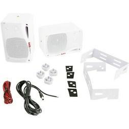 """Pyle PDWR42WBT 3.5"""" 3-Way Indoor/Outdoor Bluetooth Home Spea"""