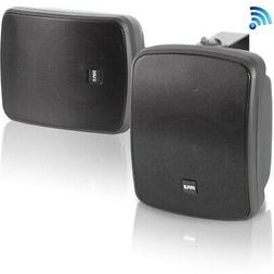 Pyle PDWR55BTRFB Dual 5.25'' Wall-Mount Marine Speaker S