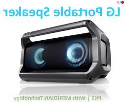 LG PK5 Portable Bluetooth Speaker w/ Meridian Technology | C