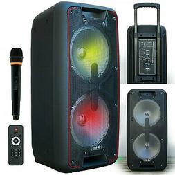 EMB PKL2100 PK1 1800W Power Party Bluetooth/USB/SD Stereo Re