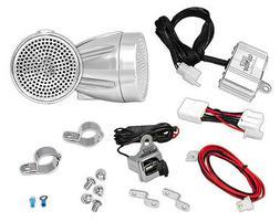Pyle 300 Watt Weatherproof Motorcycle Speaker and Amplifier