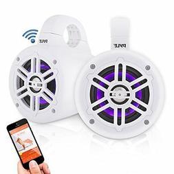 Waterproof Marine Wakeboard Tower Speakers - 4in Dual Subwoo