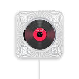 Portable Bluetooth CD <font><b>Player</b></font> Wall Mounta