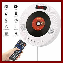 Portable Bluetooth DVD/CD Player 1080P Wall Mounted HDTV Spe