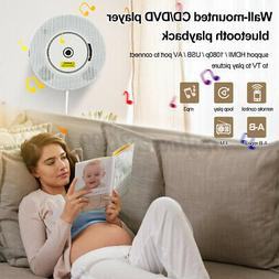 Portable bluetooth DVD/CD Player Wall Mounted HD TV Speaker