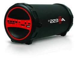 Portable Bluetooth Indoor Outdoor 2.1 Hi-Fi Cylinder Loud Sp