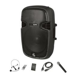 Pyle Portable Bluetooth Loudspeaker - Active PA Speaker Syst