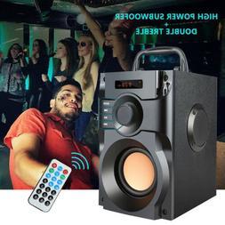 Portable Bluetooth Speaker 10W Subwoofer Heavy Bass Wireless