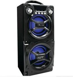 Portable Bluetooth Speaker Adjustable Big Sound Easy Set Up