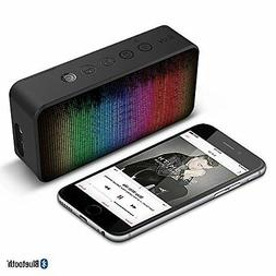 Portable Bluetooth Speaker LED Color Changing Built-in Micro