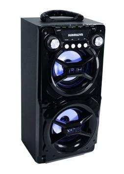 Sylvania Portable Bluetooth Speaker SP328-Black Int Battery