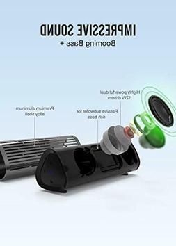 Meidong Portable Bluetooth Speaker, Waterproof IPX5 Shower S
