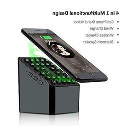 Portable Bluetooth Speaker Wireless Charger Power Bank Bocin